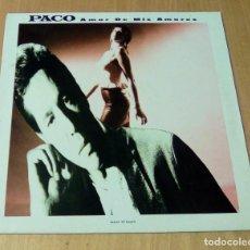 Discos de vinilo: PACO - AMOR DE MIS AMORES (MAXI 12'' 1989, CHERRY RECORDS CHD 127947). Lote 253279745