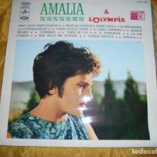 Discos de vinilo: LES SUCCES , AMALIA RODRIGUES. AMALIA Á L´OLYMPIA. COLUMBIA EDICION FRANCESA. IMPECABLE(#). Lote 111810599
