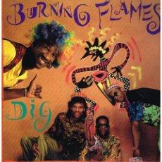 Discos de vinilo: BURNING FLAMES - DIG - LP 1991 - ED. USA. Lote 111814947