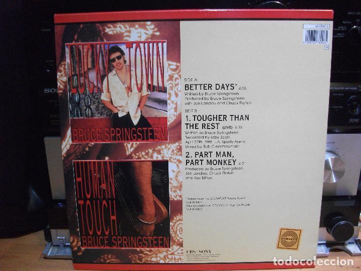 Discos de vinilo: BRUCE SPRINGSTEEN BETTER DAYS MAXI SPAIN 1992 PEPETO TOP - Foto 2 - 111821155