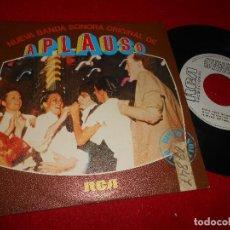 Discos de vinilo: APLAUSO BSO OST TV ALFONSO SANTISTEBAN 7 SINGLE 1980 PROMO CAM/RCA. Lote 111831927