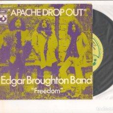 Discos de vinilo: EDGAR BROUGHTON BAND APACHE DROP OUT HARVEST 1971. Lote 111835475