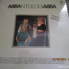 Discos de vinilo: ABBA - ANTOLOGIA LP - EDICION ESPAÑOLA - CARNABY RECORDS 1982 - STEREO -. Lote 111844115