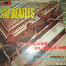 Discos de vinilo: THE BEATLES - PLEASE PLEASE ME LP - ORIGINAL INGLES - PARLOPHONE 1963 BLACK/YELLOW LABEL MONOAURAL. Lote 111866247