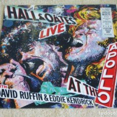 Discos de vinilo: DARYL HALL & JOHN OATES WITH DAVID RUFFIN & EDDIE KENDRICK ( AT THE APOLLO ) 1985-GERMANY LP33. Lote 111868239