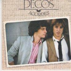Discos de vinilo: SINGLE LOS PECOS. ACORDES. JUANY CBS 1978 SPAIN (DISCO PROBADO Y BIEN). Lote 111871519