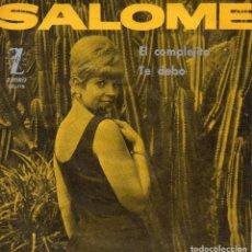 Discos de vinilo: SALOME, SG, EL COMPLEJITO + 1, AÑO 1965. Lote 111882495