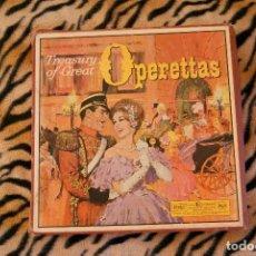 Discos de vinilo: TREASURY OF GREAT OPERETTAS BOX SET 12 VINILOS READER'S DIGEST. Lote 111886171