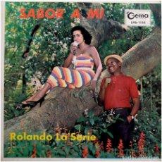 Discos de vinilo: ROLANDO LA SERIE Y BEBO VALDES Y SU ORQUESTA – SABOR A MÍ - LP USA - GEMA RECORDS LPG-1133. Lote 111894475