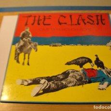 Discos de vinilo: LOTE LP THE CLASH GIVE'EM ENOUGH ROPE SELLO CBS 1985...SALIDA 1 EURO. Lote 111896391