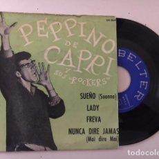 Discos de vinilo: PEPPINO DI CAPRI – SUEÑO + 3 / EP BELTER – 50.364 - 1960. Lote 111896615