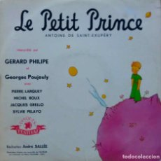 Discos de vinilo: LE PETIT PRINCE. EL PRINCIPITO. SAINT - EXUPERY. GERARD PHILIPE. G POUJOULY. MINI LP 10 PULGADAS . Lote 111896855