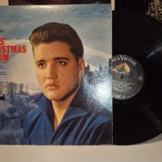 Discos de vinilo: ELVIS CHRISTMAS ALBUM / LP 33 RPM - ORIGINAL 1959 - ELVIS PRESLEY, WHITE CHRISTMAS, SILENT NIGHT.. Lote 89307540