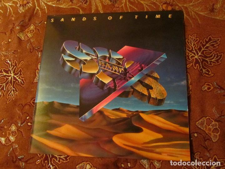 S.O.S. BAND- LP DE VINILO. TITULO SANDS OF TIME- CON 9 TEMAS- ORIGINAL 86- DISCO TOTALMENTE NUEVO (Música - Discos - LP Vinilo - Techno, Trance y House)