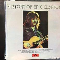 Discos de vinilo: HISTORY OF ERIC CLAPTON. Lote 111934040