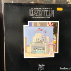 Discos de vinilo: THE SONG REMAINS THE SAME. LED ZEPPELIN. Lote 111934476