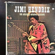Discos de vinilo: JIMI HENDRIX. THE GREATEST ORIGINAL SESSIONS. Lote 111934515