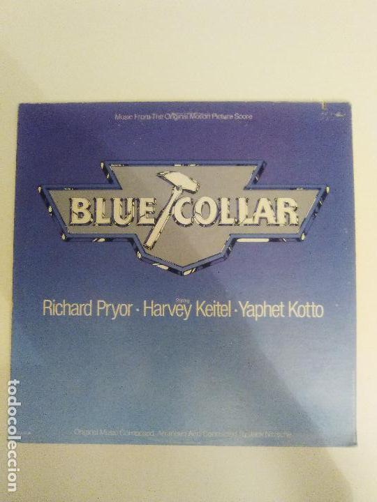 BLUE COLLAR ( 1978 MCA USA ) JACK NITZSCHE CAPTAIN BEEFHEART HOWLIN' WOLF LYNYRD SKYNYRD (Música - Discos - LP Vinilo - Bandas Sonoras y Música de Actores )