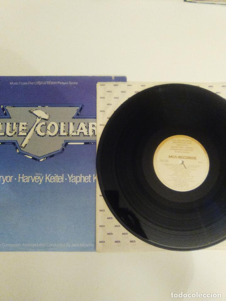Discos de vinilo: BLUE COLLAR ( 1978 MCA USA ) JACK NITZSCHE CAPTAIN BEEFHEART HOWLIN' WOLF LYNYRD SKYNYRD - Foto 3 - 111936311