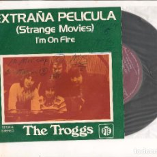 Discos de vinilo: THE TROGGS STRANGE MOVIES PYE RECORDS 1973. Lote 111939467