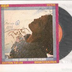 Discos de vinilo: THE BIRD WATCHERS COTTON FIELDS RCA VICTOR 1970. Lote 111945211