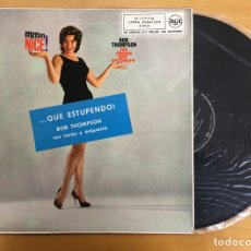 Discos de vinil: LP BOB THOMPSON HIS CHORUS AND ORCHESTRA - ... QUÉ ESTUPENDO!. Lote 111948591