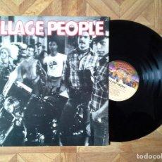 Discos de vinilo: VILLAGE PEOPLE - IDEM - 1º LP USA 1977 - CARPETA EX VINILO EX. Lote 111960175