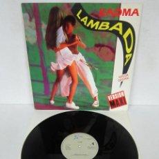 Discos de vinilo: KAOMA - LAMBADA - MAXI VERSION ORIGINAL - EPIC 1988 SPAIN . Lote 122166935