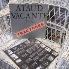 Discos de vinilo: TRACTORES– ATAUD VACANTE FIN.LP EDICION ESPAÑOLA 1992.SELLO JAJA RECORDS.PUNK. Lote 111965779