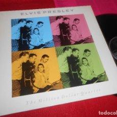 Discos de vinilo: ELVIS PRESLEY THE MILLION DOLLAR QUARTET LP 1990 RCA EDICION GERMANY ALEMANIA. Lote 111967299