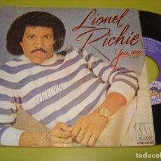 Discos de vinilo: SINGLE 1982 - LIONEL RICHIE - YOU ARE + YOU MEAN MORE TO ME - MOTOWN. Lote 111968043