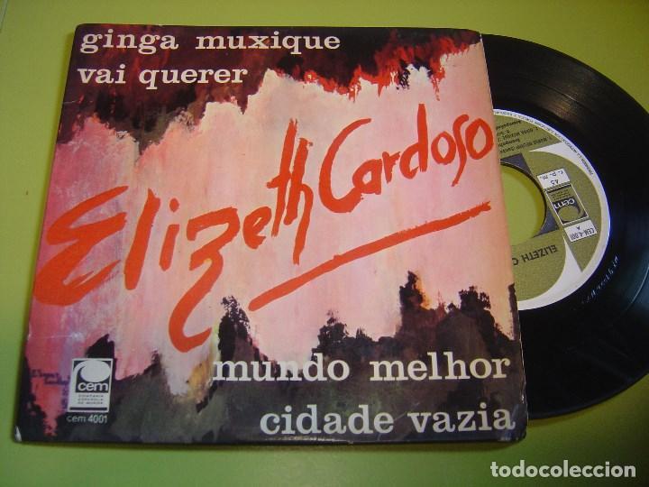 EP 1967 - ELIZETH CARDOSO - GINGA MUXIQUE - CEM (Música - Discos de Vinilo - EPs - Grupos y Solistas de latinoamérica)
