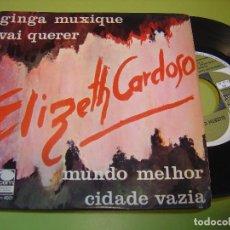 Discos de vinilo: EP 1967 - ELIZETH CARDOSO - GINGA MUXIQUE - CEM. Lote 111968979
