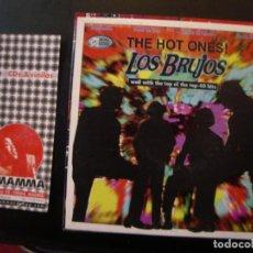 Discos de vinilo: LOS BRUJOS- THE HOT ONES!. Lote 111977055