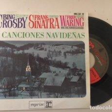 Discos de vinilo: BING CROSBY - FRANK SINATRA - 4 CANCIONES NAVIDEÑAS / EP REPRISE RECORDS ?– HRE 297-12 - ESP 1964. Lote 111977787