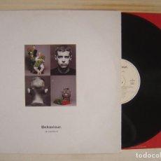 Discos de vinilo: LP ESPAÑOL CON ENCARTE 1990 - PET SHOP BOYS - BEHAVIOUR - PARLOPHONE. Lote 111988859