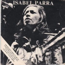 Discos de vinilo: SINGLE ISABEL PARRA. GRACIAS A LA VIDA. MANIFIESTO. MOVIE PLAY 1976 SPAIN (PROBADO Y BIEN). Lote 111990595