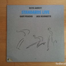 Discos de vinilo: KEITH JARRETT TRIO: STANDARDS LIVE (KEITH JARRETT, GARY PEACOCK, JACK DEJOHNETTE). Lote 111991144