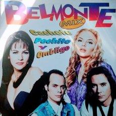 Discos de vinilo: BELMONTE– CACHETE, PECHITO Y OMBLIGO MIX - MAXI-SINGLE SPAIN 1996. Lote 111996951