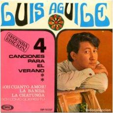 Discos de vinilo: LUIS AGUILE + LOS IMPALA - LA CHATUNGA - EP SPAIN 1967 (RE) - SONOPLAY SBP-10.057. Lote 112009407