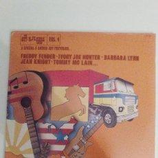 Discos de vinilo: THE HITKICKERS SERIES VOL 4 3LP ( 1976 FESTIVAL USA ) BARBARA LYNN IVORYJOE HUNTER JOHNNY WINTER. Lote 112021199