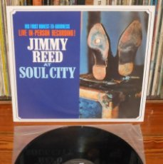 Discos de vinilo: JIMMY REED AT SOUL CITY 1964 LP 180G LIVE RECORDINGS BLUES 2004 GET BACK RECORDS. Lote 112022859