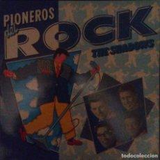 Discos de vinilo: VENDO LP PIONEROS DEL ROCK, THE SHADOWS, AÑO 1989 (MAS INFORMACIÓN EN 2ª FOTO EN EL INTERIOR).. Lote 112029703