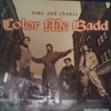 Discos de vinilo: VENDO MAXI SINGLE DE COLOR ME BADD, AÑO 1993 (MAS INFORMACIÓN EN 2ª FOTO EN EL INTERIOR).. Lote 112030011