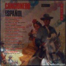 Discos de vinilo: VENDO LP CANCIONERO ESPAÑOL, DIFERENTES ARTISTAS, AÑO 1966, (MAS INFORMACIÓN EN 2ª FOTO EN INTERIOR). Lote 112030819