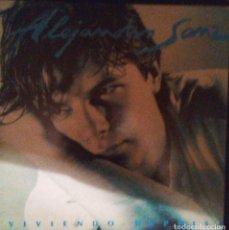 Discos de vinilo: VENDO LP DE ALEJANDRO SANZ (VIVIENDO DEPRISA) AÑO 1991 (MAS INFORMACIÓN 2ª FOTO INTERIOR).. Lote 112032655
