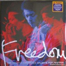 Discos de vinilo - JIMI HENDRIX: FREEDOM (ATLANTA POP FESTIVAL, JULY 4, 1970) - 112034867
