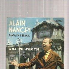 Discos de vinilo: ALAIN NANCEY A MADRID. Lote 112042871