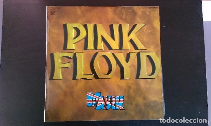 LP PINK FLOYD MASTERS OF ROCK ESPAÑA 1975 PSICODELIA ROCK SINFÓNICO PROGRESIVO (Música - Discos - LP Vinilo - Pop - Rock - Extranjero de los 70)