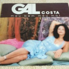 Discos de vinilo: GAL COSTA – MEU BEM, MEU MAL, BRAZIL 1985 FONTANA. Lote 112049359